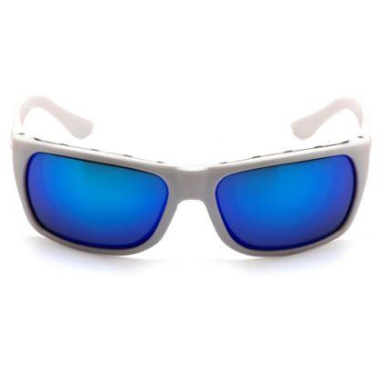 Kính Pyramex Vallejo màu xanh gọng trắng