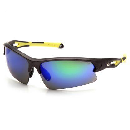 Mắt kính thể thao Monteagle - xanh gọng đen vàng